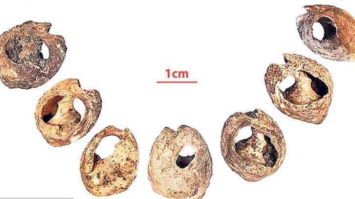 En eski mücevher 150 bin yıllık