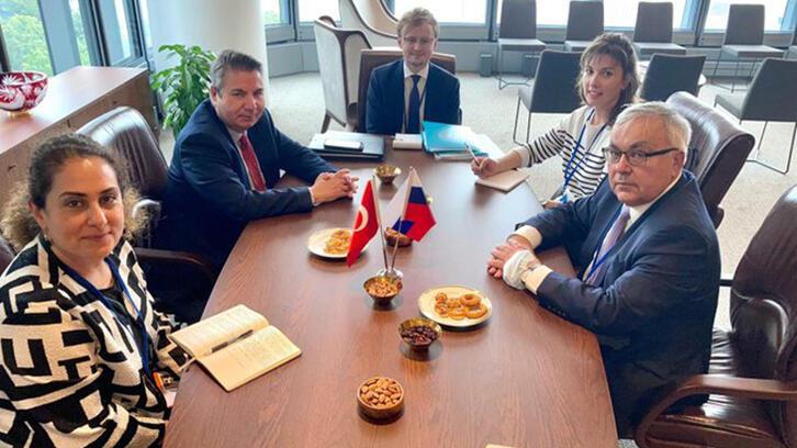 Dışişleri Bakan Yardımcısı Sedat Önal, Rus mevkidaşı ile görüştü
