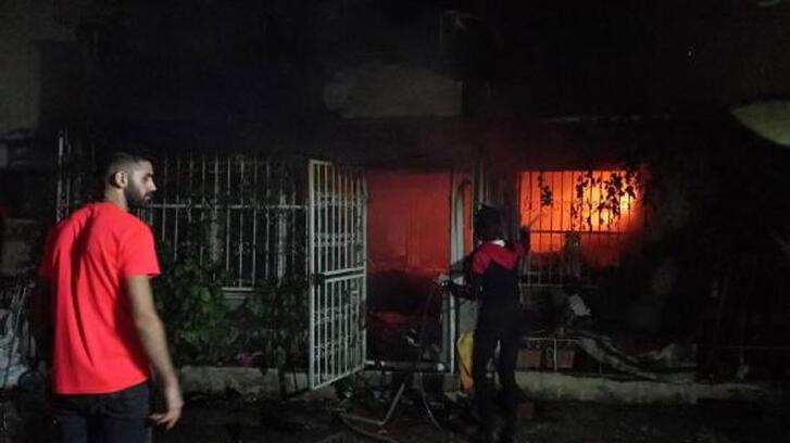 Bursa'da 4 katlı apartmanda yangın