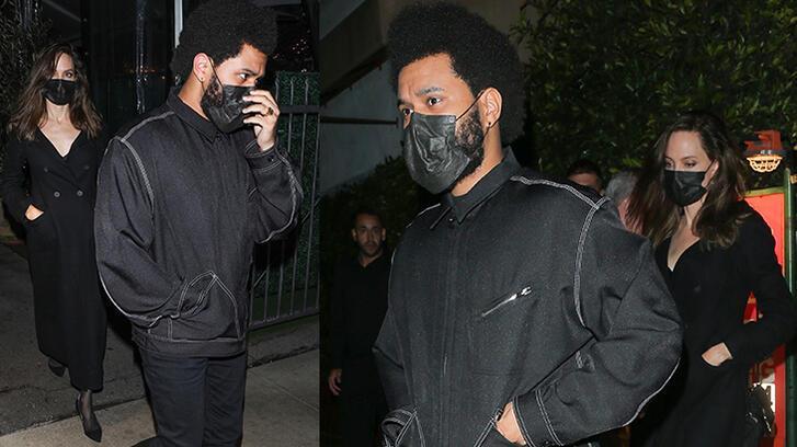 Angelina Jolie ile The Weeknd yeniden akşam yemeğinde