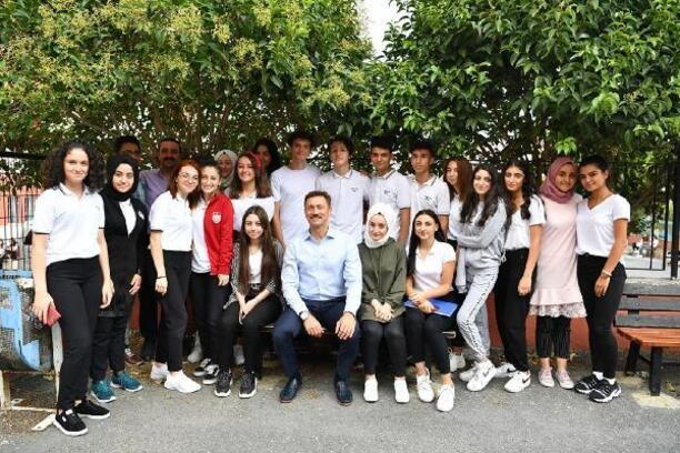 Bahçelievler'de üniversite kazanan öğrencilere bin 200 lira destek