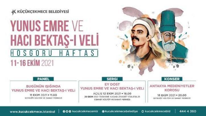 Hacı Bektaş-ı Veli ve Yunus Emre Hoşgörü Haftası'nda anılacak