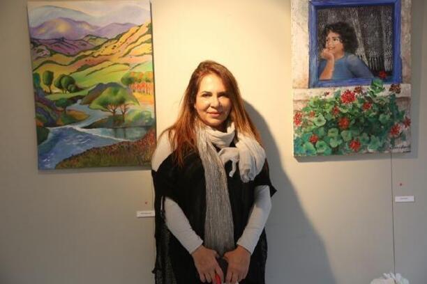 'Sanatla Yaraları Sarıyoruz' Karma Resim Sergisi AKSM'de