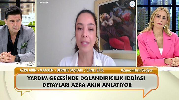 Azra Akın 'yardım gecesinde dolandırıcılık' iddiasını canlı yayında anlattı!
