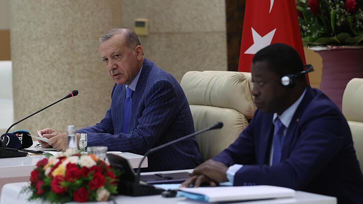 Son dakika: Erdoğan'dan Togo'da net mesajlar: Adımlar atabiliriz!
