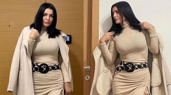 Aleyna Tilki'nin annesi Havva Öztel pozuyla dikkat çekti