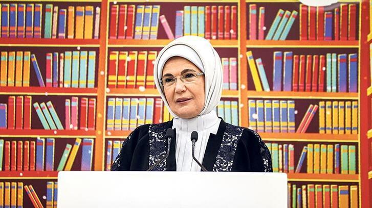 Emine Erdoğan: Kütüphaneler, eğitimin ve okulların kalbi