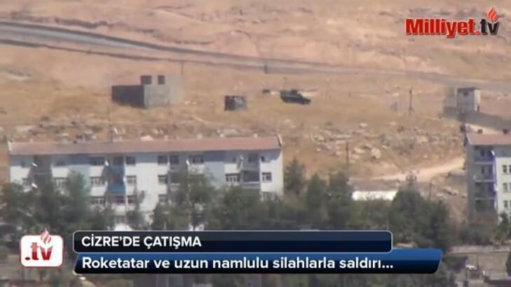 Cizre'de çatışma:  1 ölü, 3'ü asker 7 yaralı