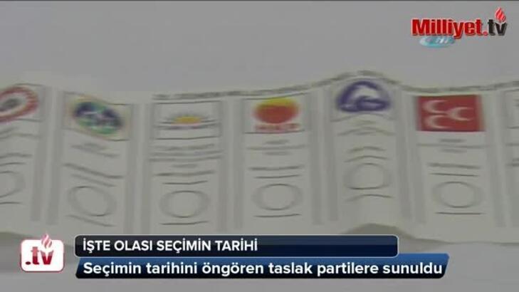 YSK'nın seçim  günü 1 Kasım