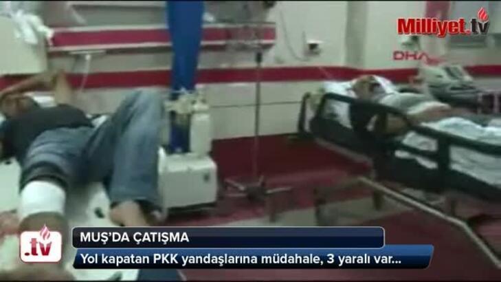 Varto Karlıova karayolunda müdahale: 3 yaralı