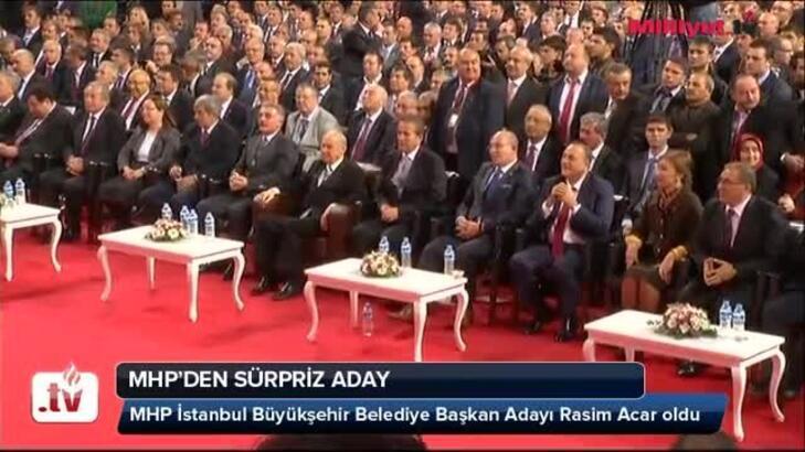 MHP'nin İstanbul adayı Rasim Acar