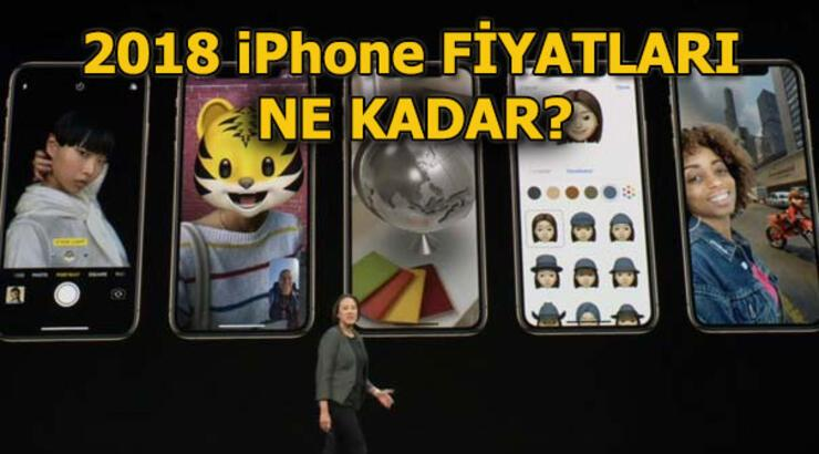 iPhone fiyatları ne kadar? 2018 iPhone Türkiye fiyatları - iPhone XS, iPhone XS Plus, iPhone XC