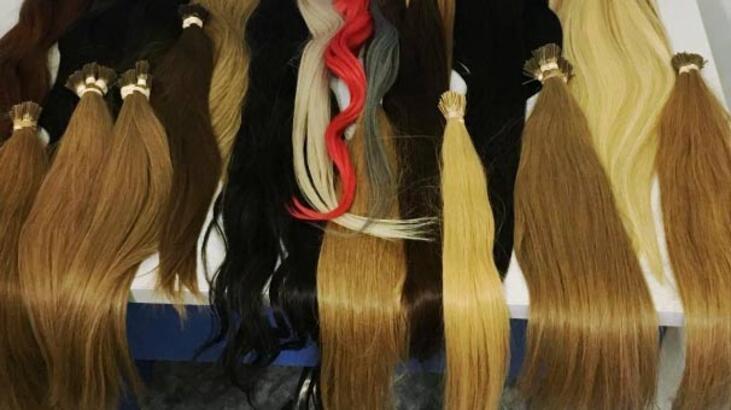 Bodrum'da 3 kilo kaçak insan saçı ele geçirildi