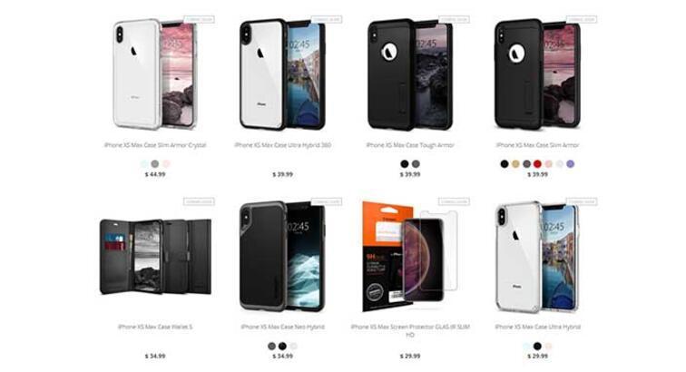 Spigen, iPhone XS ve iPhone XS Max kılıflarını satışa sundu