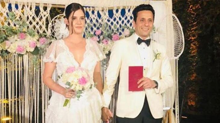 Ferhan Şensoy ile Derya Baykal'ın kızı evlendi
