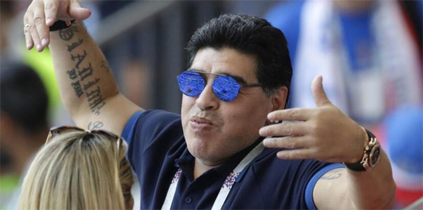 Maradona, Dorados de Sinaloa'nın teknik direktörü oldu