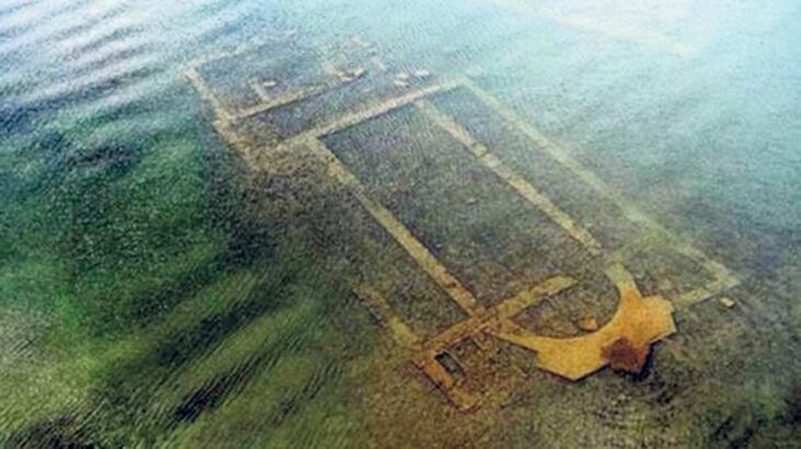 İznik Gölü'ndeki bazilika ile ilgili yeni bulgular