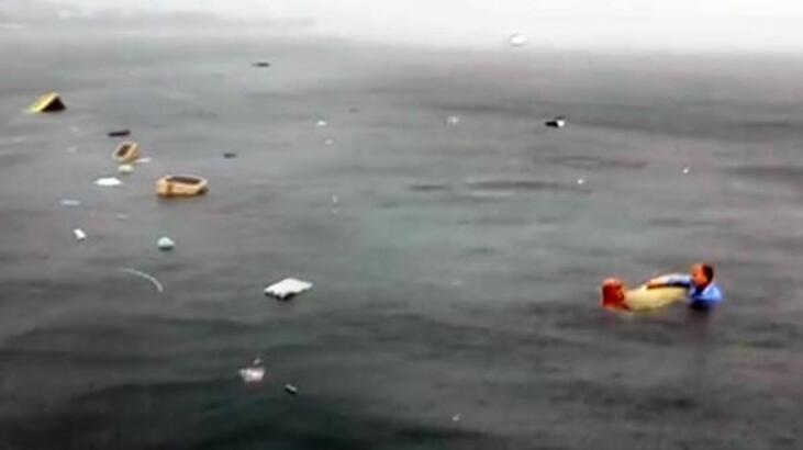 Son dakika... Bostancı'da helikopter düştü! İşte ilk görüntüler...