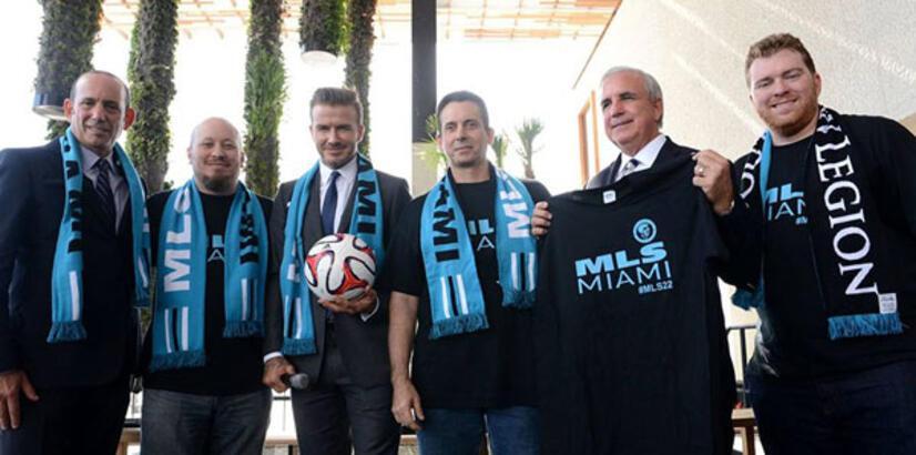 """Beckham'ın takımı """"Inter Miami"""" oldu!"""