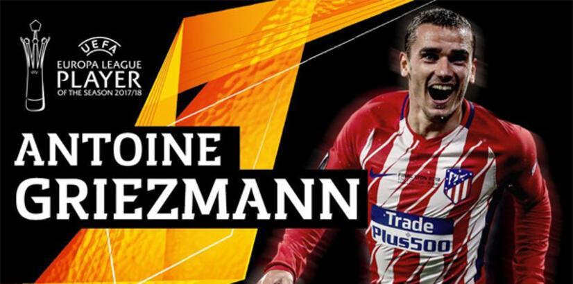 UEFA Avrupa Ligi'nin en iyisi Griezmann