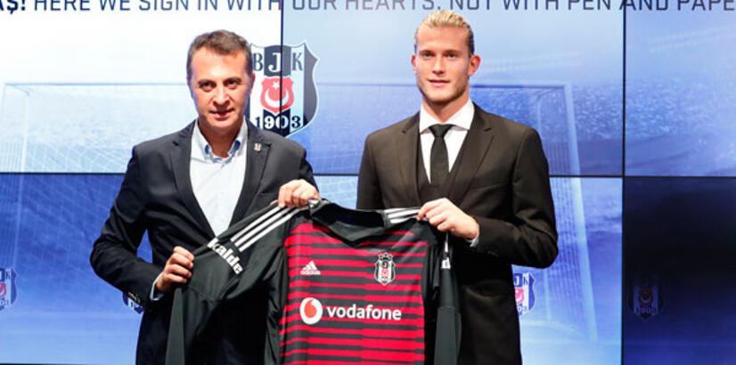 Beşiktaş'ta Loris Karius imzayı attı