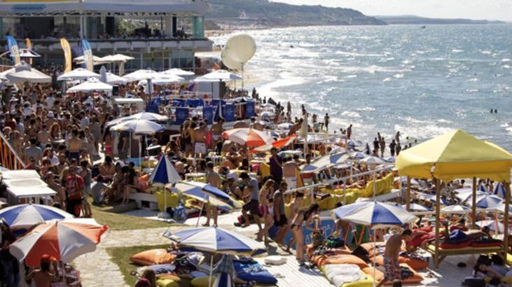 İstanbul beach'leri Bodrum'la yarışıyor
