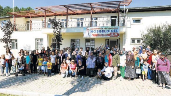 1000 kadın eğitim kampında buluştu