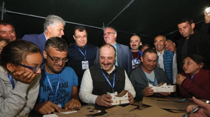 Sanayi ve Teknoloji Bakanı Mustafa Varank Antalya'da