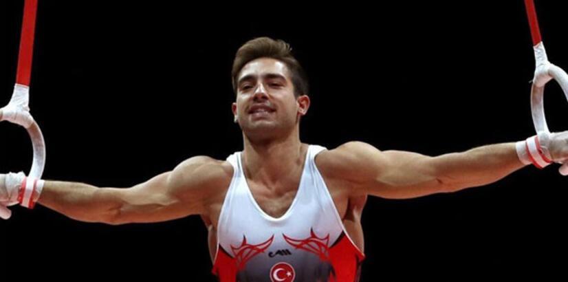 İbrahim Çolak, halka aletinde gümüş madalya kazandı