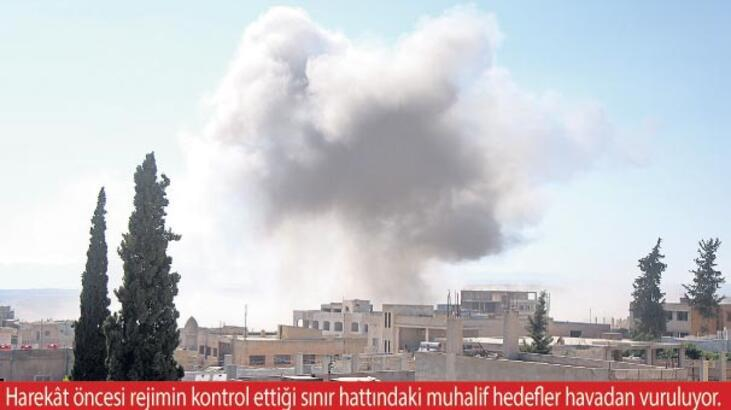 İdlib'e hava saldırısı başladı