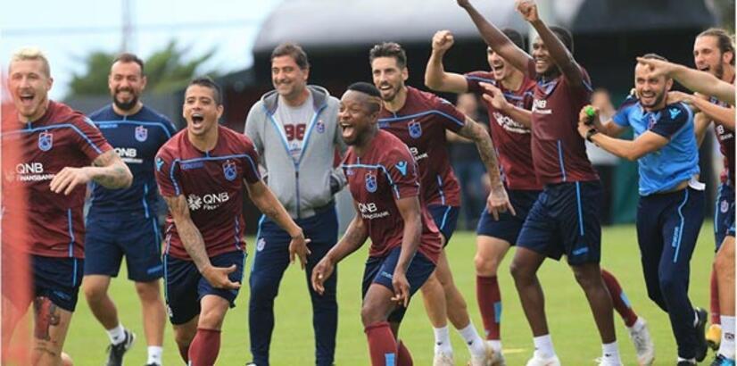 Trabzonspor'un kadrosunda 5 kıtadan oyuncu var