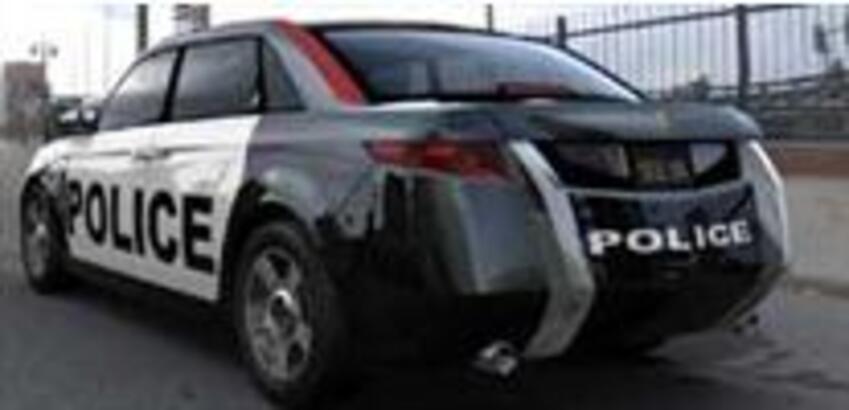 Dünyanın polislere özel ilk otomobili!..