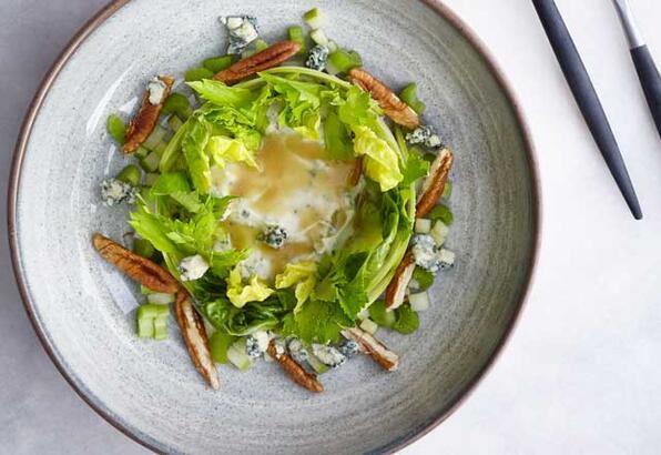 Pikan cevizli salata tarifi