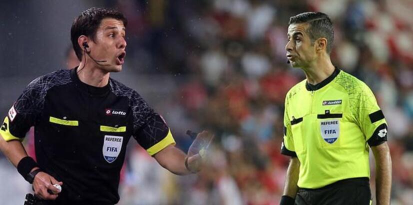 UEFA'dan Kalkavan ve Meler'e görev