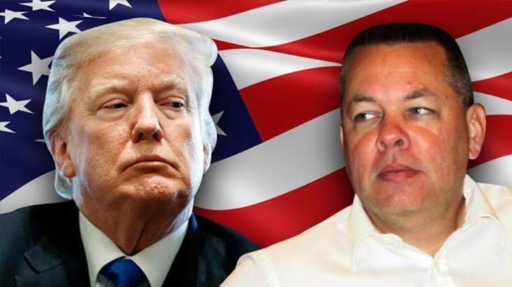 Son Dakika... Trump'tan Türkiye'ye Brunson tehdidi