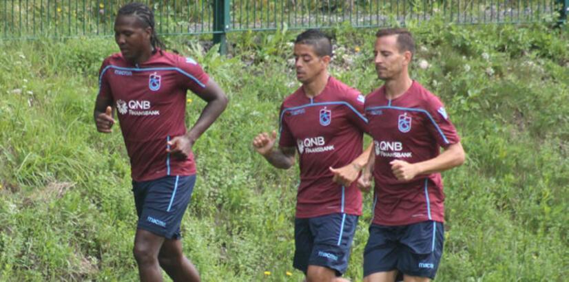 Trabzonspor'da 5 eksik!