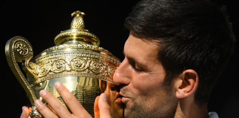 Djokovic'in kupa hasreti Wimbledon'da bitti