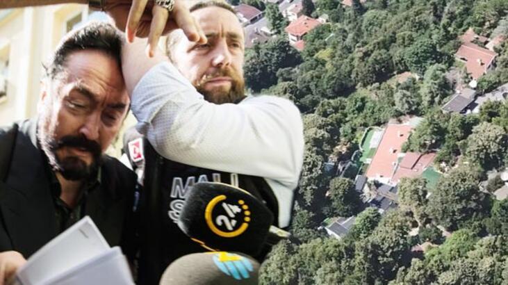 Son dakika: Oktar'ın villasına kepçeler girdi! Polis her yerde onu arıyor...
