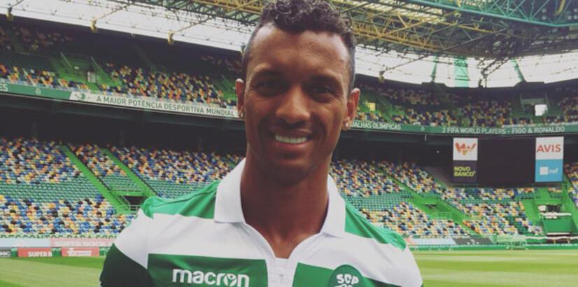 Nani resmen Sporting Lizbon'da