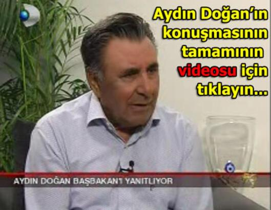 Aydın Doğan, Erdoğan'ın iddialarını yanıtladı