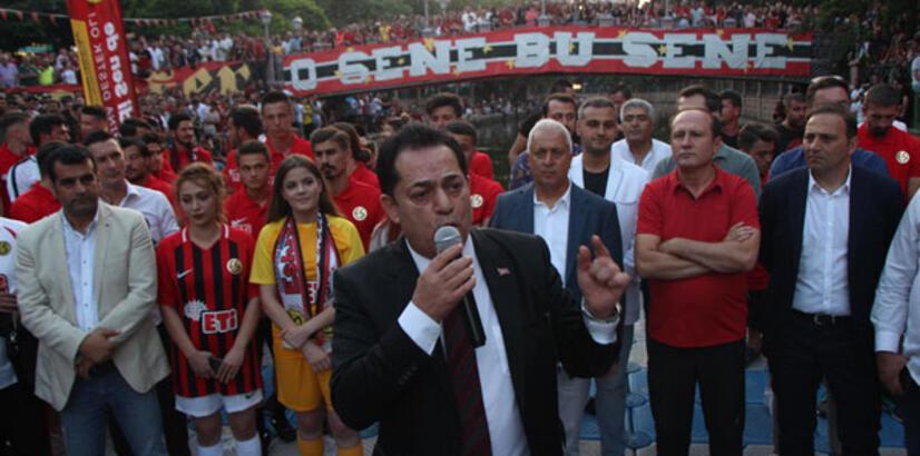 Eskişehirspor'un 53. kuruluş yılı kutlandı!