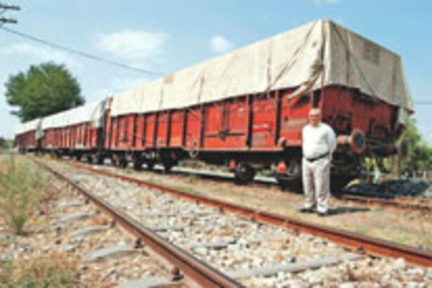 Trenle taşımacılık sanayicinin gözdesi