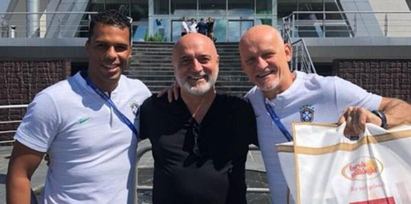 Brezilya'ya çeyrek finalde Türk baklavası dopingi