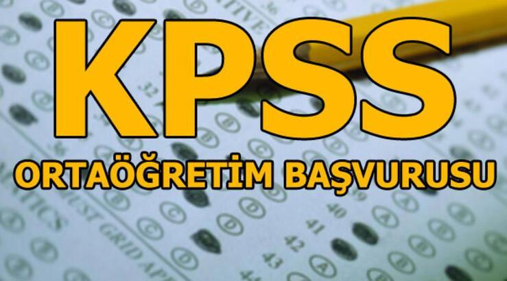 KPSS başvuruları başladı! KPSS ortaöğretim başvurusu nasıl yapılır?
