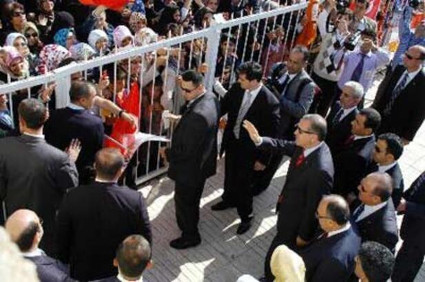 Tunceli'de Erdoğan protestosu