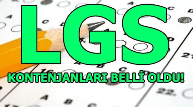 LGS kontenjan sorgulama! (E-Okul 2018 LGS tercihleri)