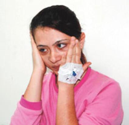 Kadın doktoru dövdü serbest bırakıldı