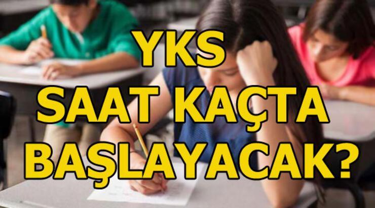 YKS saat kaçta başlayacak? YKS sınav giriş belgesi sorgulama!