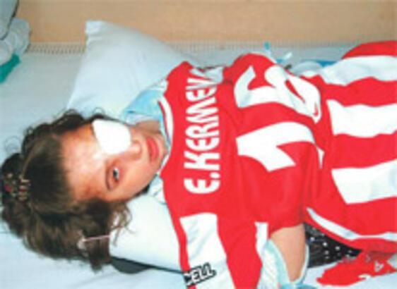 Fanatiklerin yaraladığı Ebru kör olmayacak