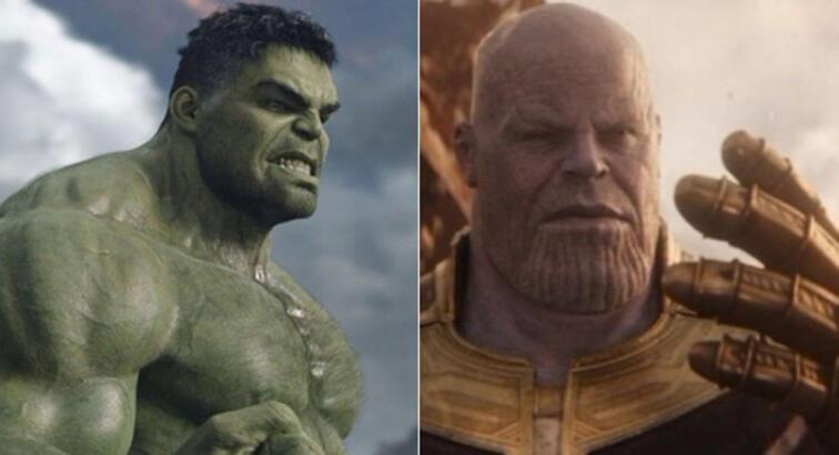 Avengers Infinity War'da Hulk ve Thanos'un dövüş sahneleri nasıl çekildi?